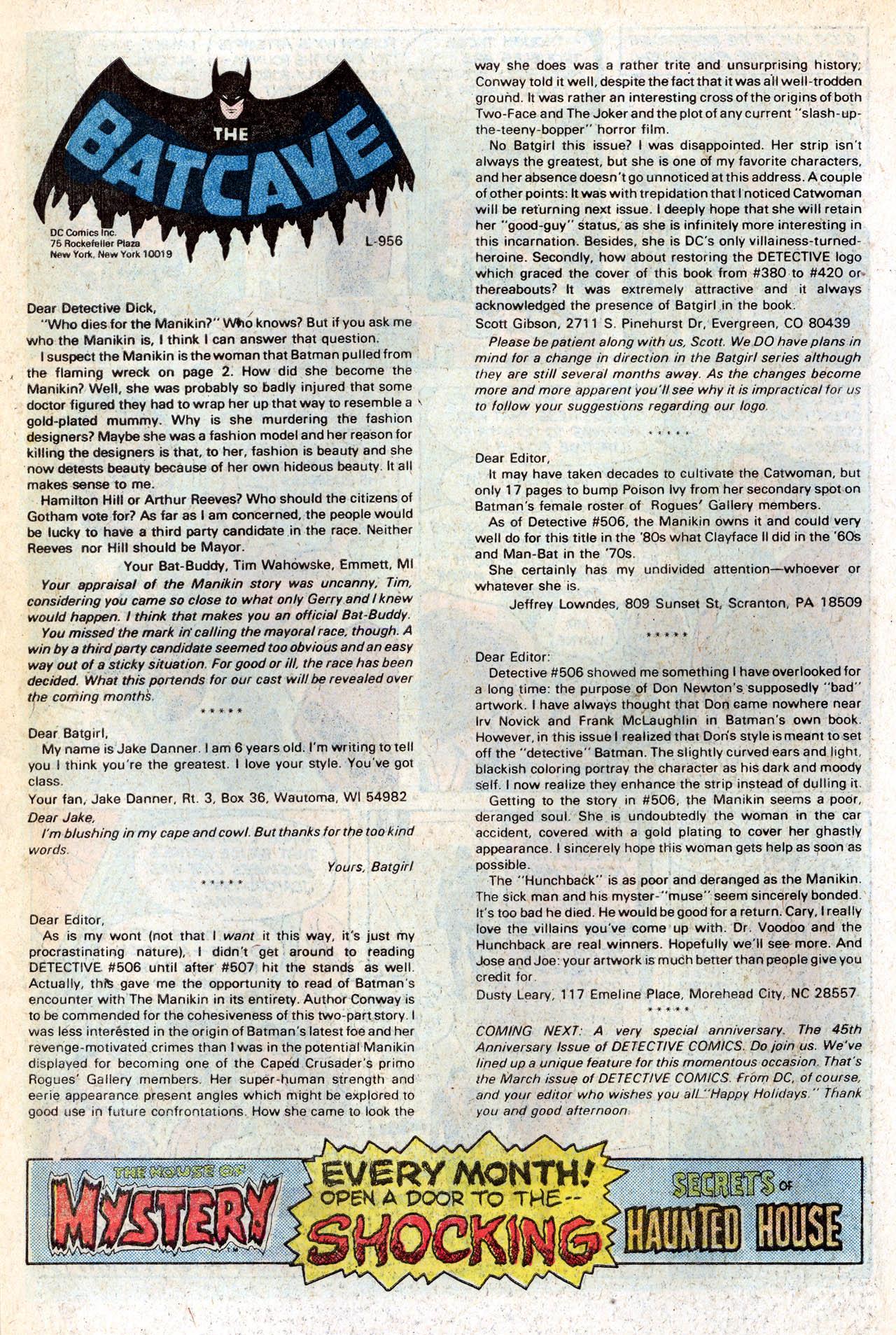 Detective Comics (1937) 511 Page 33