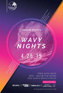 Club night in Santa Monica, California, USA on April 25, 2019 at 9 PM