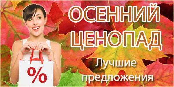 Осенний ценопад – успей купить по выгодной цене!
