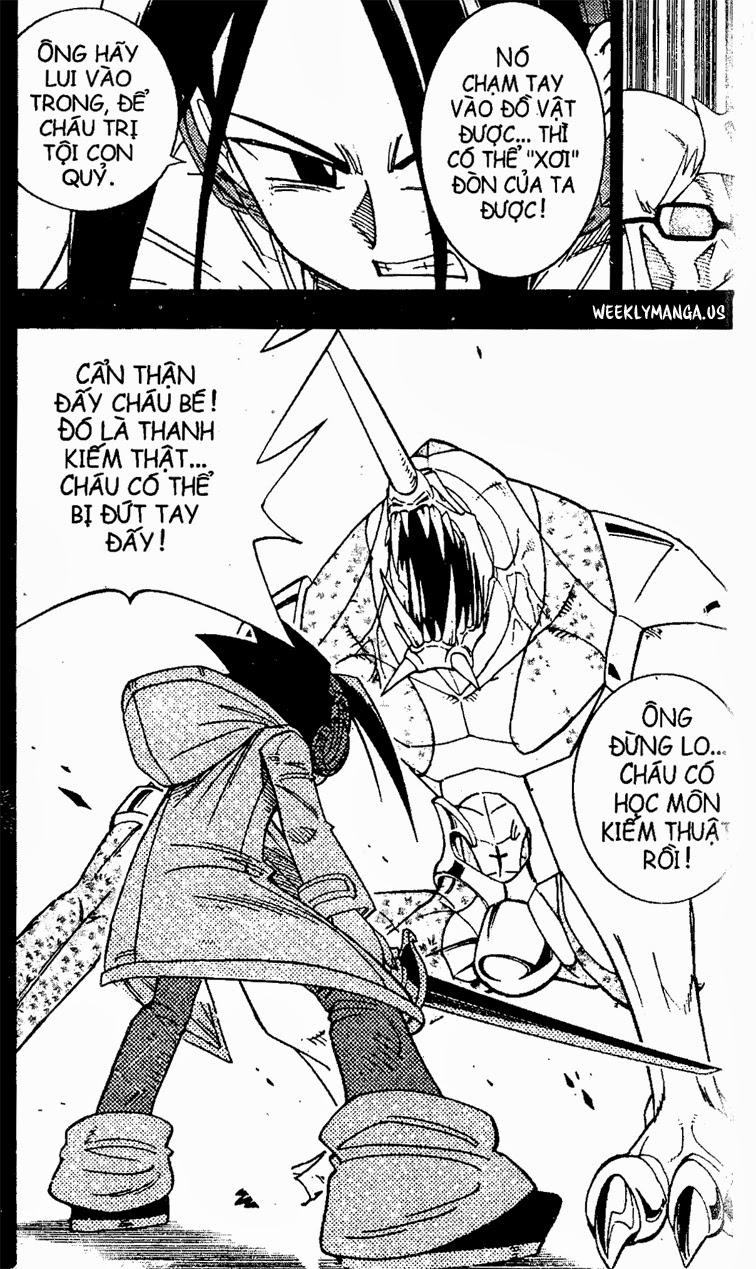 Shaman King [Vua pháp thuật] chap 168 trang 12