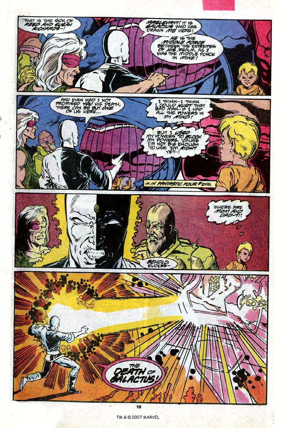 Read online Silver Surfer (1987) comic -  Issue #17 - 21
