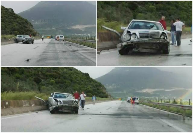 Τροχαίο ατύχημα στην Εγνατία στο ύψος της Παραμυθιάς (+ΦΩΤΟ)