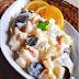 Resep Salad Buah Apel, Pear, Dan Anggur Hitam