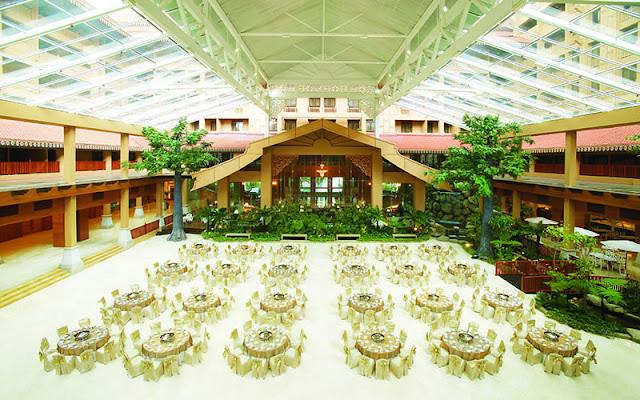 indoor garden wedding Malaysia