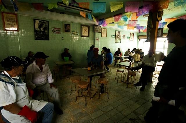 Pulqueria in Xochimilco, Mexico
