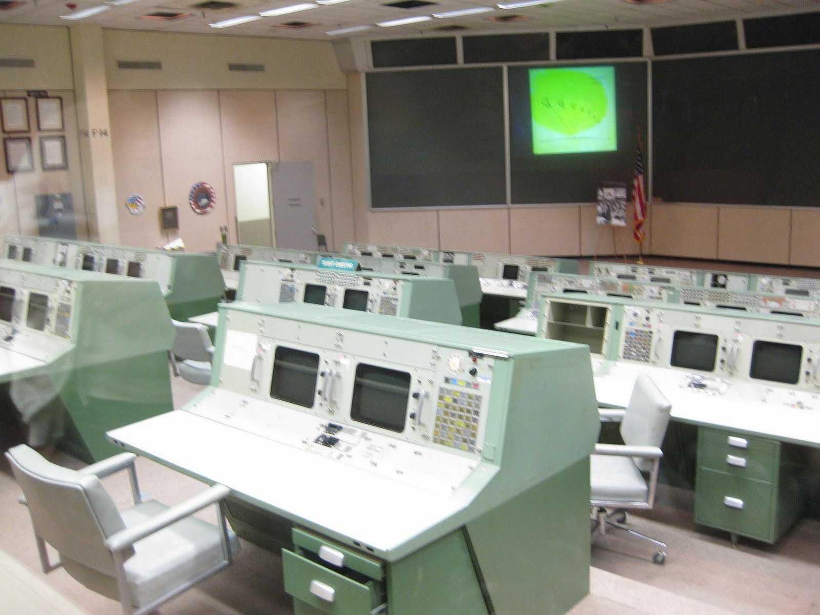 Old NASA Control Room - Pics about space