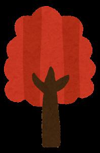 シンプルな木のイラスト5