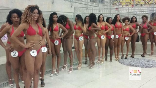Pré seletiva para Corte Real Momesca do Carnaval de BH 2018