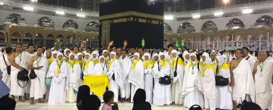 Jamaah Umroh Arfa Tour