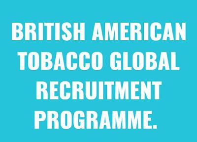 British American Tobacco Global Graduate Recruitment 2018