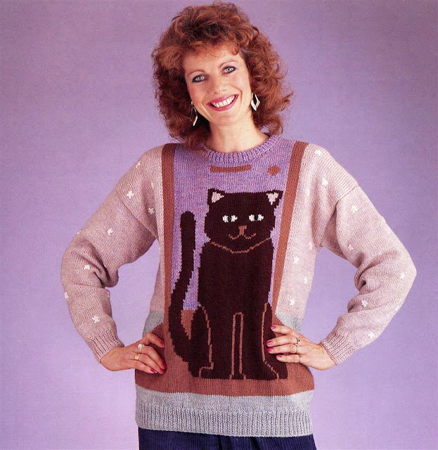 25 Incredibly Stylish Black And White Bathroom Ideas To: 25 Incredibly Ugly Knitted Sweaters From The 1980s