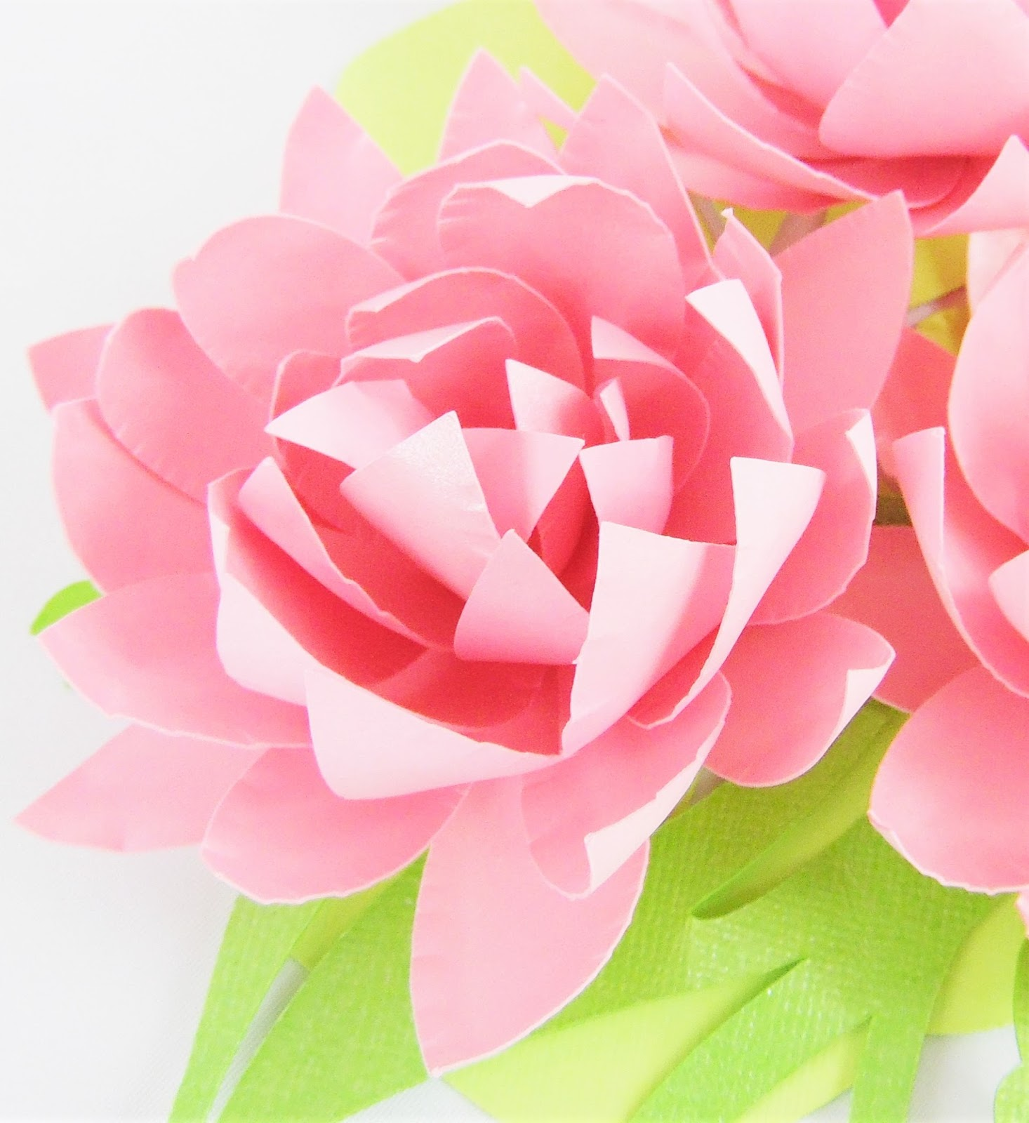 Easy Diy Small Paper Flowers Lotus Style Abbi Kirsten Collections