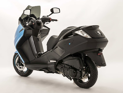 2016 New Scooter  Peugeot Satelis 125cc rear look