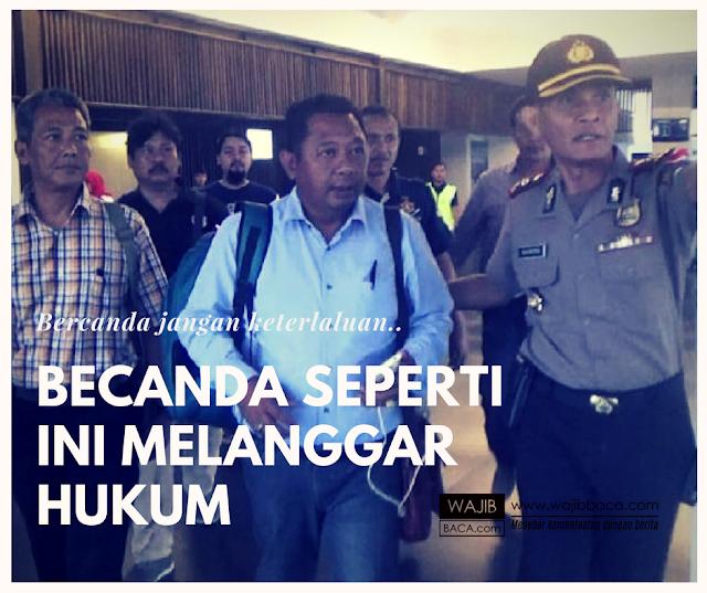 Meski Cuma Becanda 2 Anggota DPRD Dibekuk Polisi, Becandanya Begini Sih....