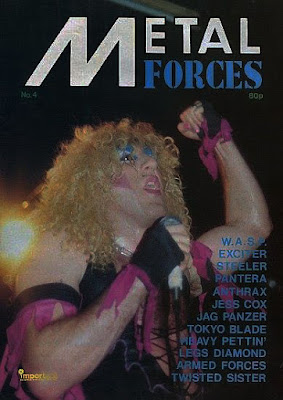 Metal Forces magazine from the U.K. 1983