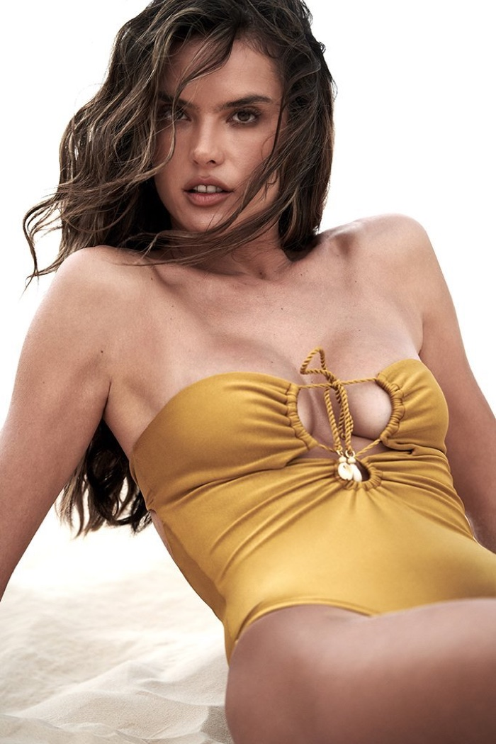 Alessandra Ambrosio for GAL Floripa Swimsuit Campaign