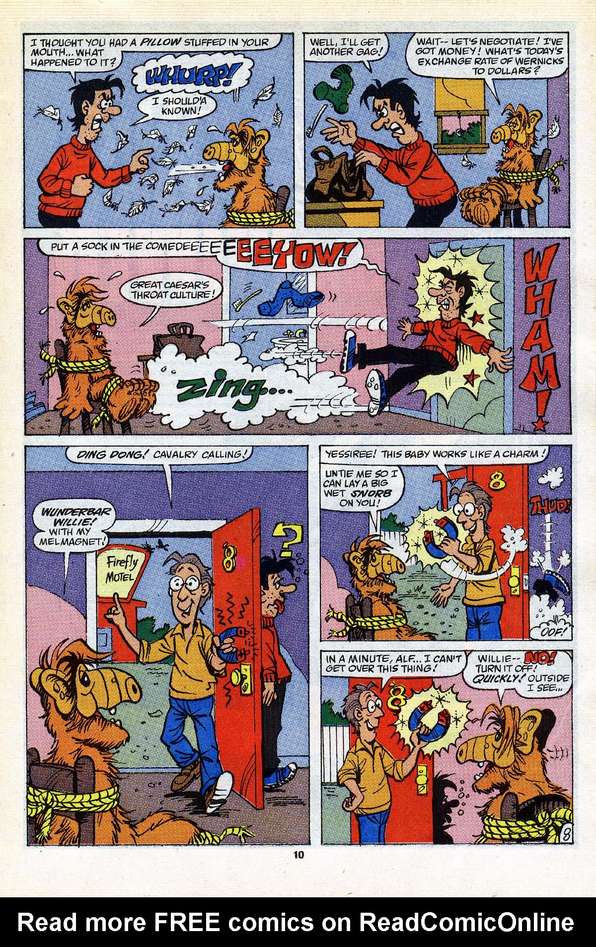 Read online ALF comic -  Issue #25 - 9