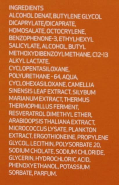Repaskin fotoprotector corporal Spray transparente