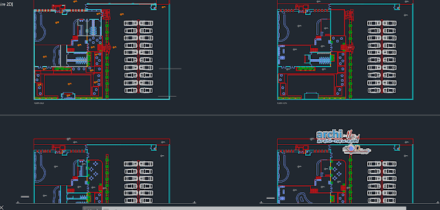 Cafe music in AutoCAD