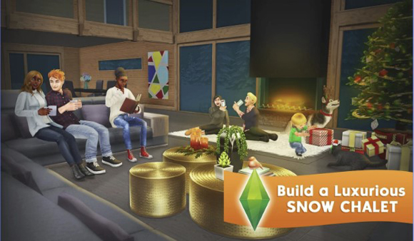 The Sims FreePlay Mod Apk Unlimited Simoleons/Lifestyle Points Terbaru