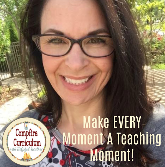 Hi! This is Heather from Campfire Curriculum with Helpful Heather.  Studies prove that children develop an image of themselves at an early age.  What does this mean to you as a teacher?  Model good self esteem and make every moment a teaching moment!  Read today so that you can be more insightful and thoughtful in your reactions throughout the school day and all day!
