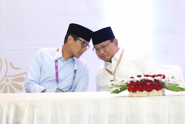 Tidak Ingin Tersandera Pemilik Modal, Alasan Prabowo Dan Sandi Rogoh Kocek Pribadi