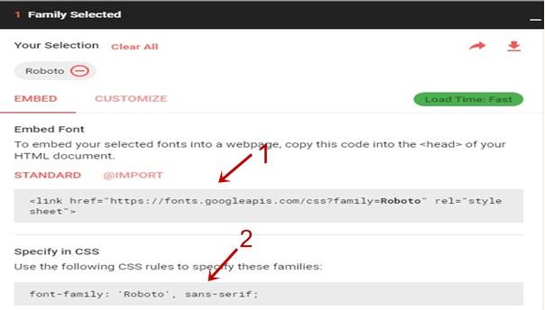 Blog Me Google Custom Font Kaise Install Kare?