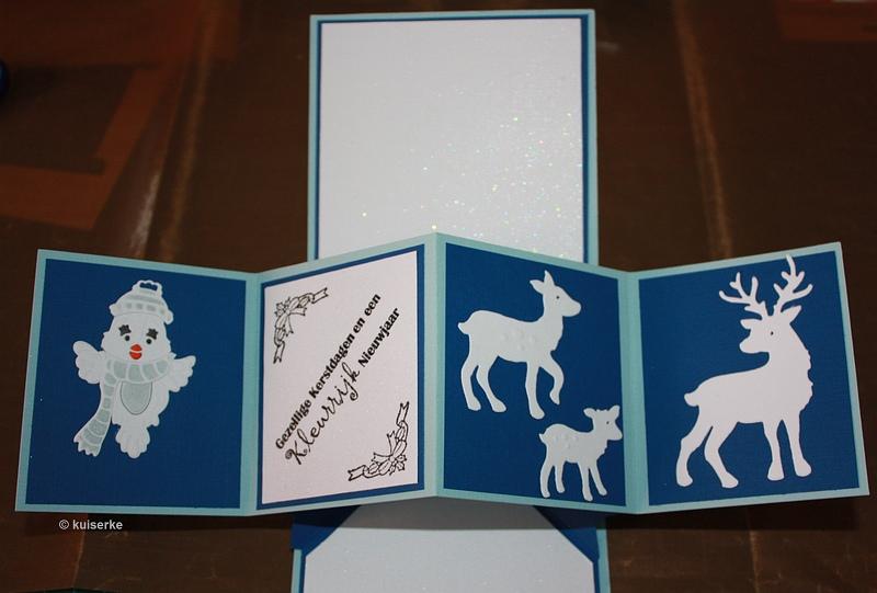 Magnifiek Kuiserkes kaartjes: kerst pop Up kaart #ZV66