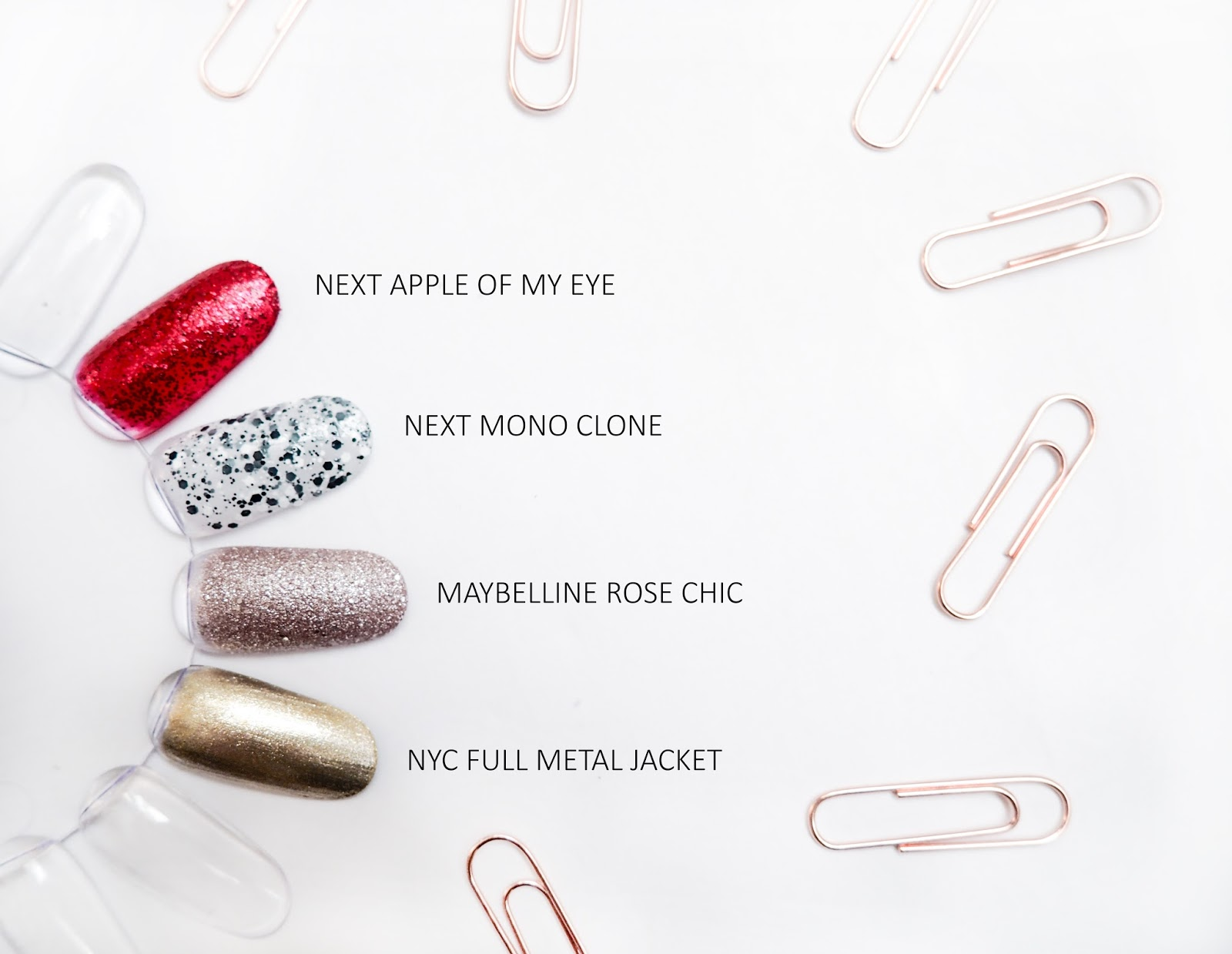 Winter Manicure Menu Maybelline NYC Next Swatches
