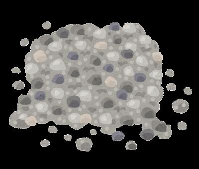 砂利のイラスト