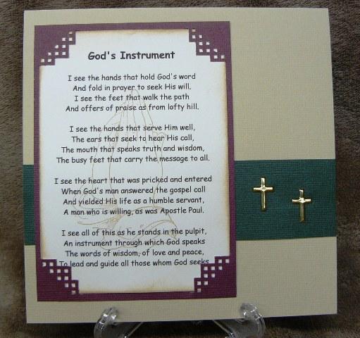 Poems For Pastor Appreciation 3