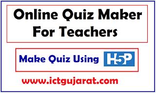 Online Quiz Maker For Teachers   Make Quiz In H5P