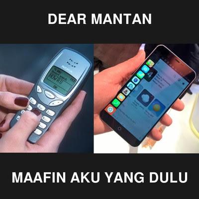 """DP BBM Terbaru Meme """"Dear Mantan"""