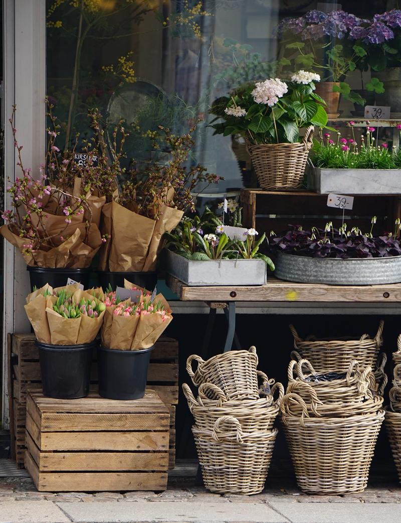 Kööpenhamina, kukkakauppa