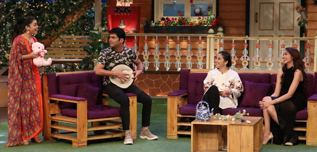 Manisha Koirala Promotes Dear Maya on The Sets of The Kapil Sharma Show