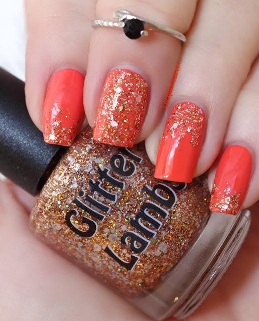 Fall Glitter Topper Nail Polishes by Glitter Lambs Nail Polish