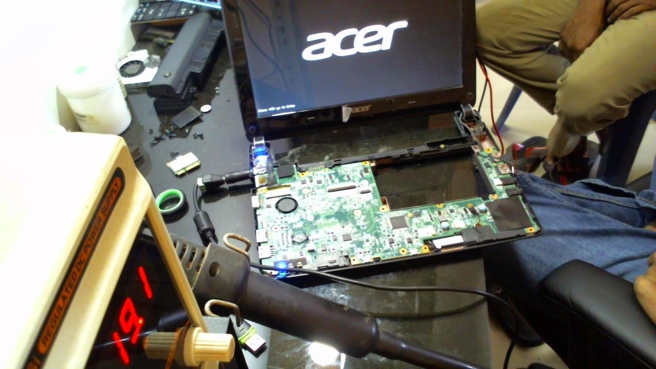 Laptop acer aspire one D270 mati total  death  matot