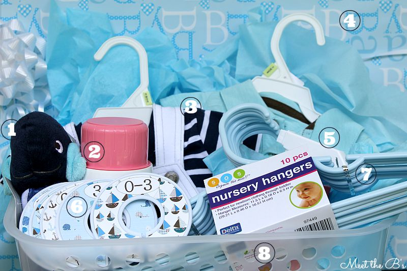Laundry themed baby shower gift basket the inspired hive laundry themed baby shower gift basket negle Images