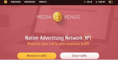Menghasilkan Uang Dari Blog Dengan MediaVenus
