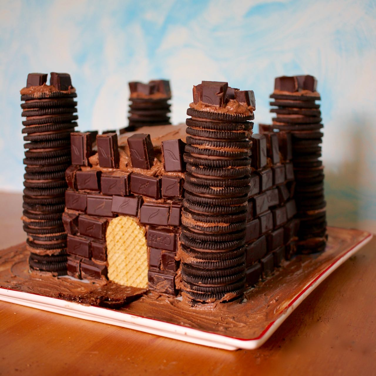 Chocolate Lovers Medieval Castle Cake Step By Step