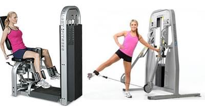 Biserie de ejercicios para mujeres para ejercitar cadera, cola y músculos abductores