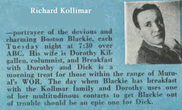 Bill Kay Ford >> Say Hello to...: Richard Kollmar