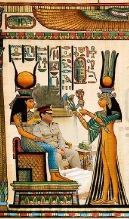 2013年8月16日讯息 『埃及近况和地球整体局势的简短更新』