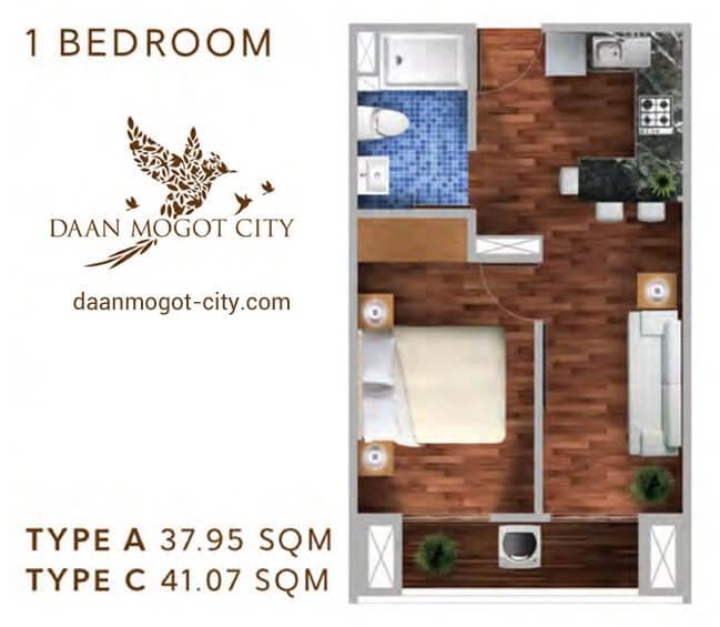 Apartemen DAMOCI Jakarta Tipe 1 BR