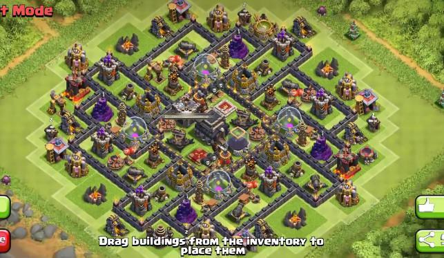 Gambar Base Coc Th 9 Terkuat Di Dunia 2