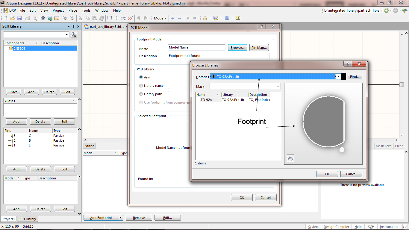 How to create Integrated Library in Altium Designer