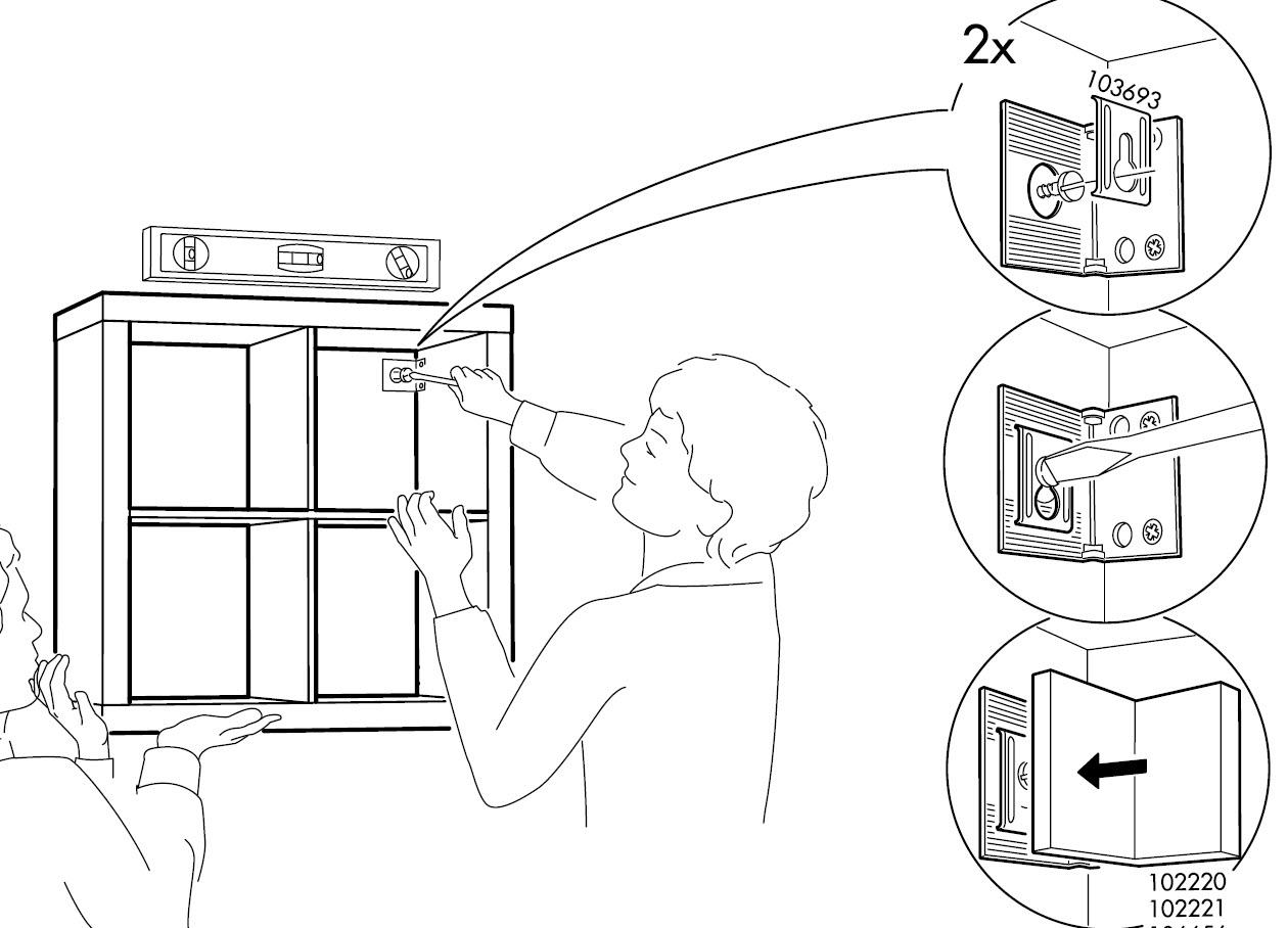 How to: Mount a SAFE floating 2 x 4 EXPEDIT shelf ~ Get