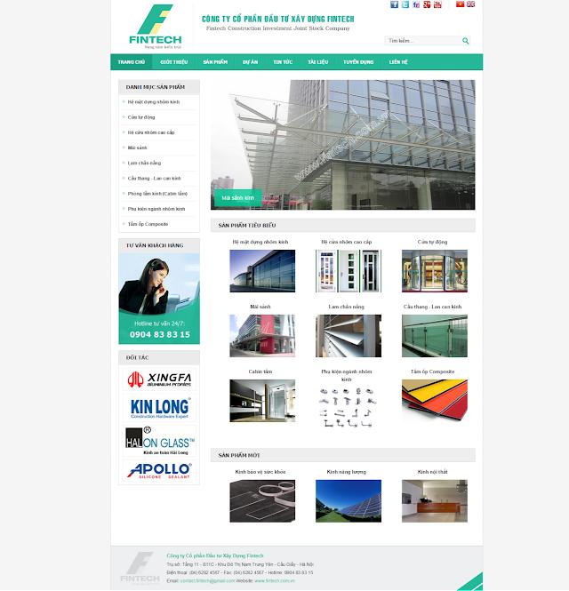 Share code website giới thiệu cty - sản phẩm