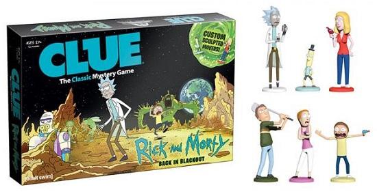 El Cluedo de Rick y Morty