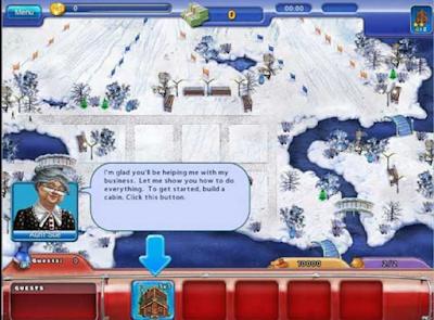 滑雪場大亨(Ski Resort Mogul),模擬建築經營遊戲!